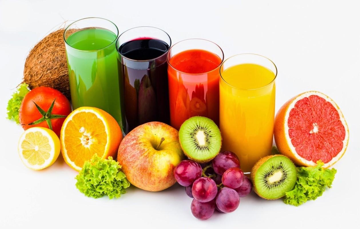 detoxifierea cu fructe si legume)